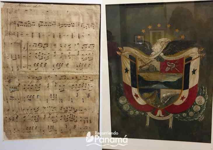 handwritten hymn by Santos Jorge.