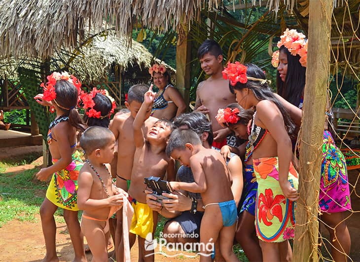 Emberá Druá Community Children