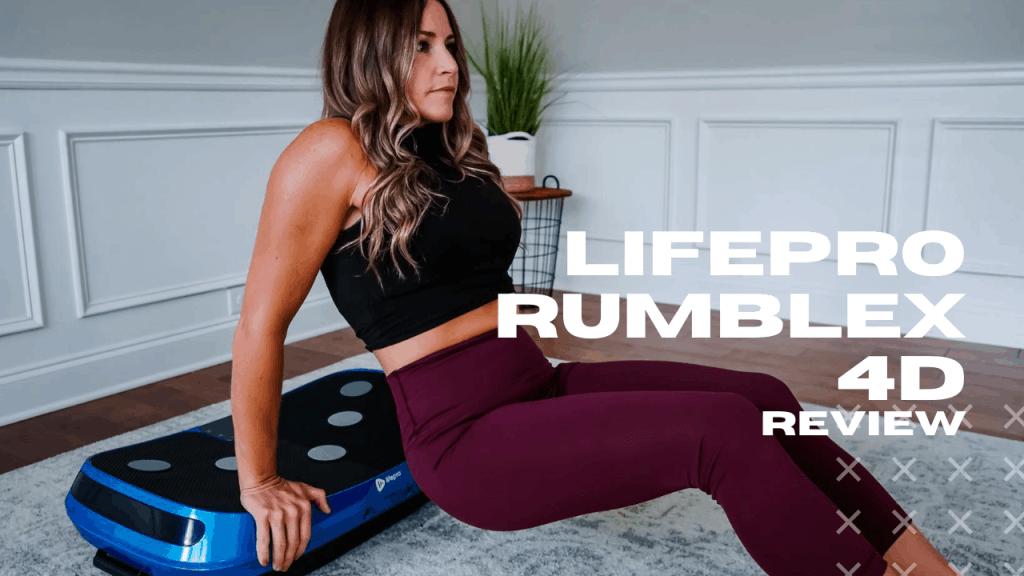 lifepro rumblex 4d vibration plate review