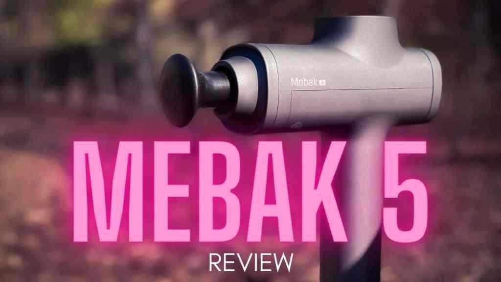 mebak 5 massage gun review