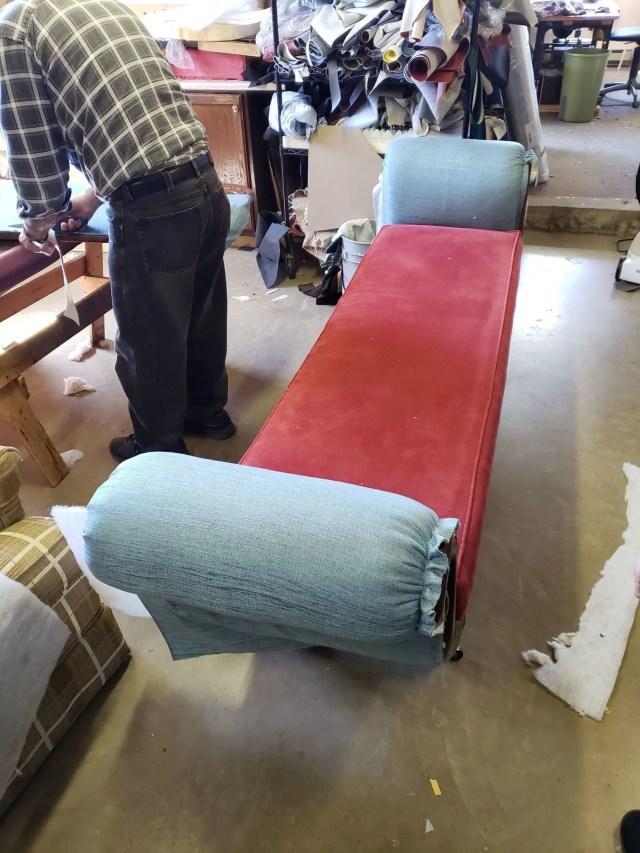 Recovered Treasures Furniture Restoration workshop work