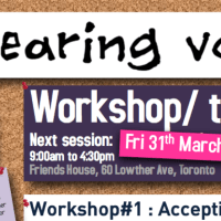 Training/Workshop - Accepting Voices - Fri 31st Mar 2017