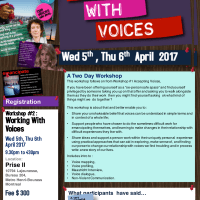 Montreal - Hearing Voices Training Workshops - April 2017
