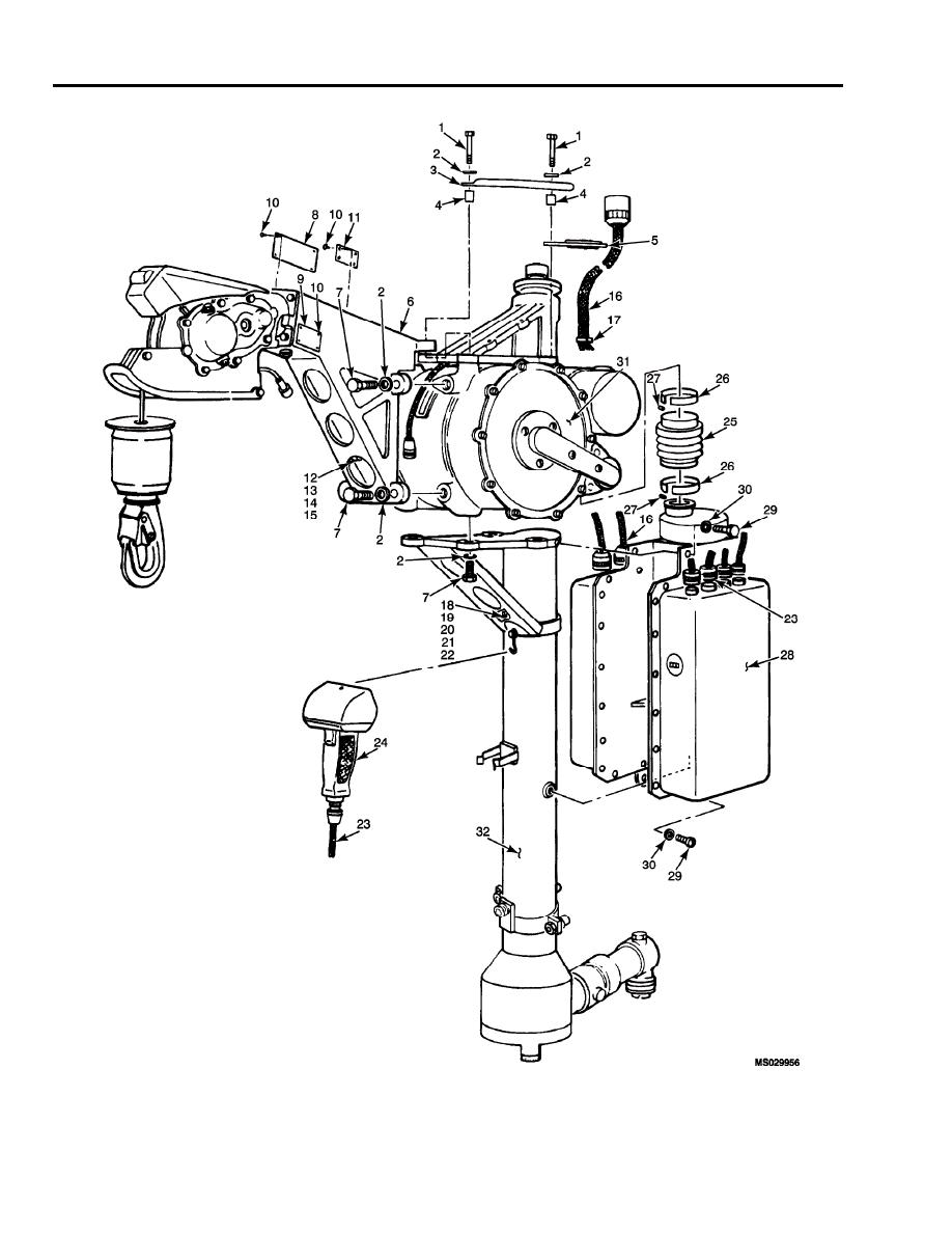 Figure 1. High Performance Rescue Hoist Assembly.