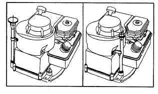 Change Oil (Gear Reduction) Cast Iron Engines