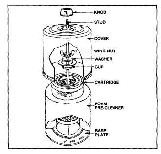 OIL FOAM AIR CLEANER VARIATIONS