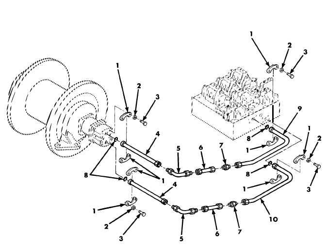 Figure 47. Hydraulic Installation 10908350, Tow Winch