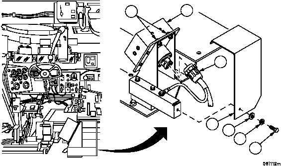 APU CONTROL BOX AND APU CONTROL BOX BRACKET REPAIR