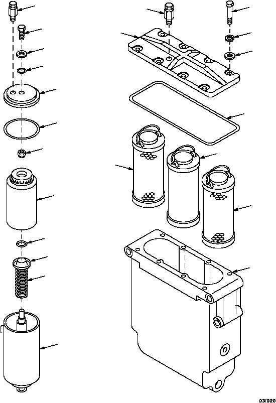 Figure 30. Primary and Water Separator Fuel Filter Assemblies