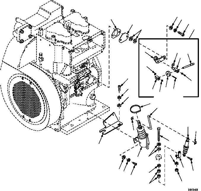Figure 371. Auxiliary Power Unit Fuel Shut--Off Solenoid