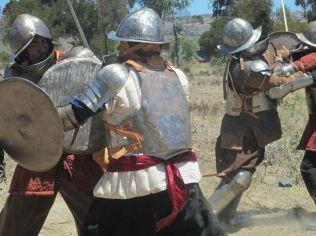 Recreadores históricos, Tercios Españoles, Entrenamiento de los Tercios de El Norte. Chile.