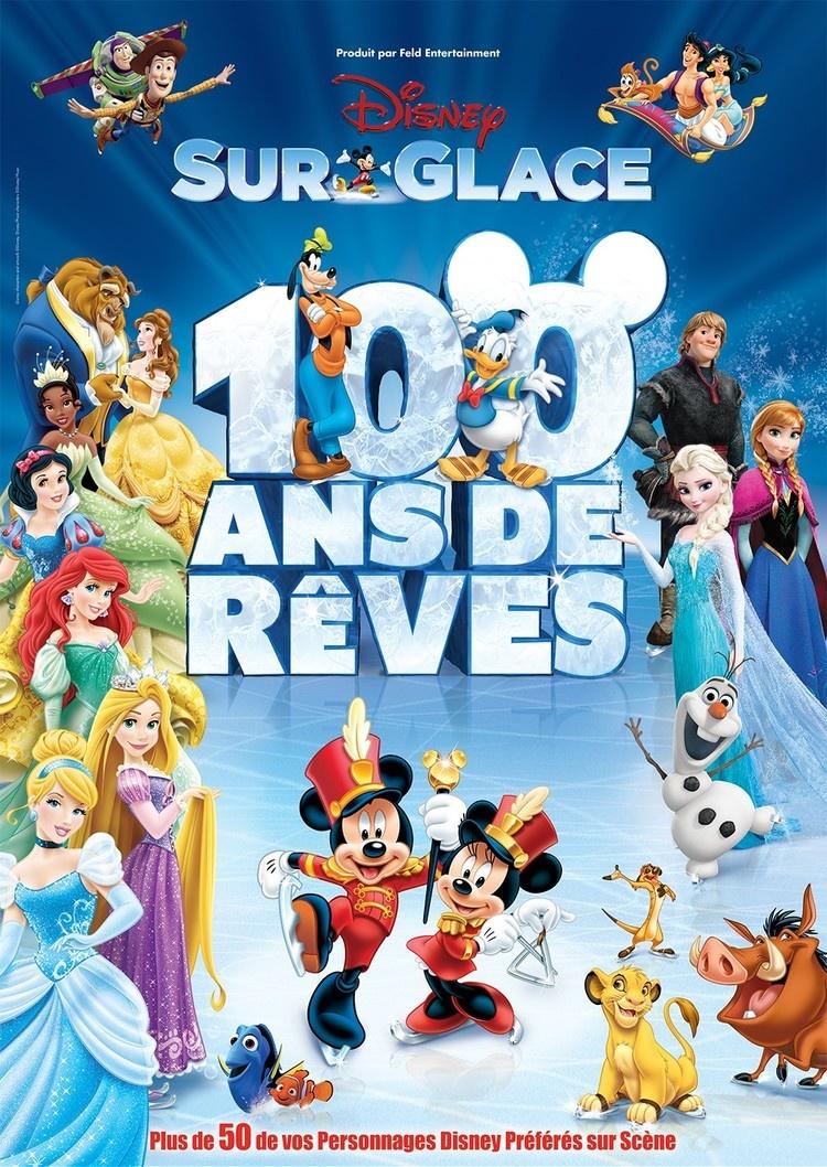 Disney 100 Ans De Reves : disney, reves, Disney, Glace, Rêves