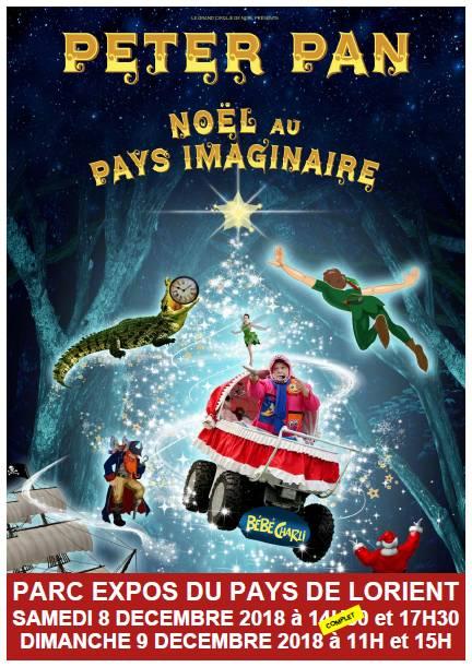 Peter Pan Noel Au Pays Imaginaire : peter, imaginaire, Peter, Noël, Imaginaire, Récréatiloups