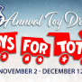 2019 Toys For Tots Drive Recreational Soccer