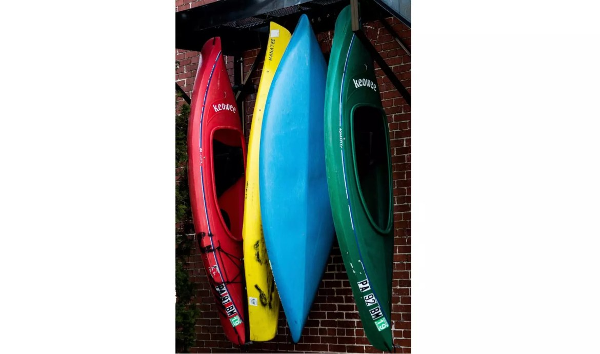 Kayak Wall Storage