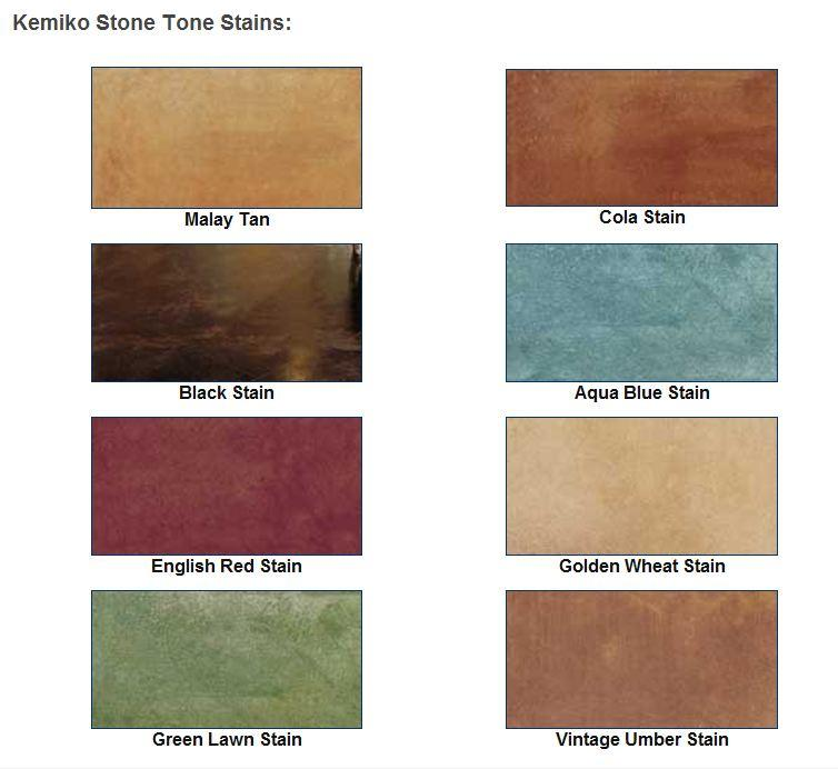 Depot Deck Stain Color Chart