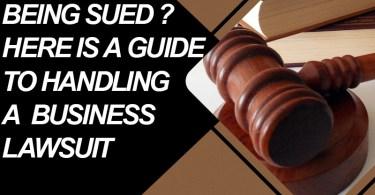 Handling A Business lawsuit