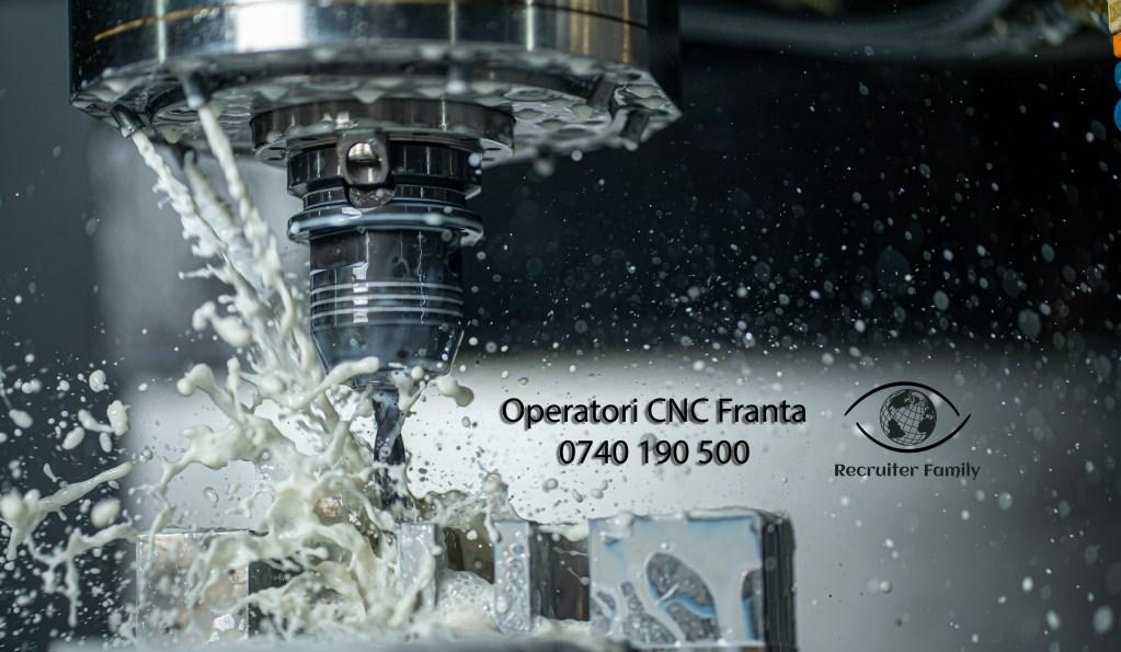 operatori CNC pentru Franta masina Mazak strung freza