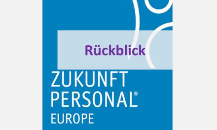 Mein Rückblick auf die Zukunft Personal Europe 2018