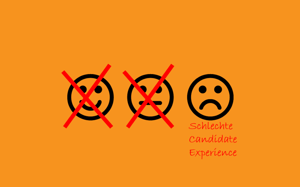 Schlechte Candidate Experience schadet langfristig mehr als man denkt