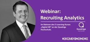 Webinar Recruiting Analytics