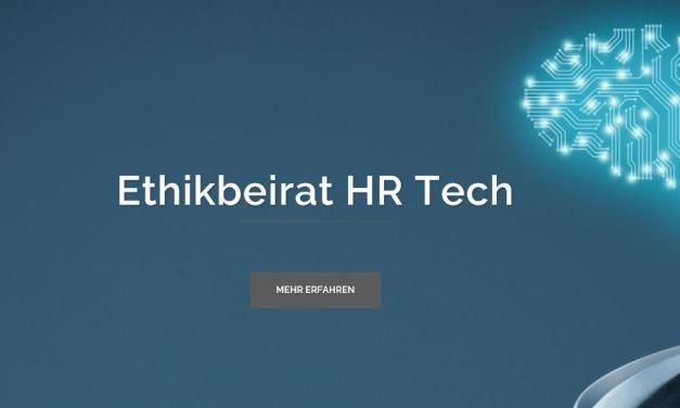 Was hat es mit dem Ethikbeirat HR Tech auf sich?