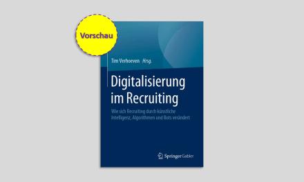 Digitalisierung im Recruiting – mein neues Buch: Vorschau