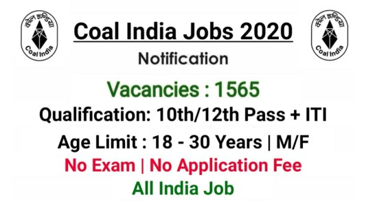 Central Coalfields Ltd Jobs 2020