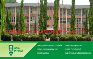 Kaduna Polytechnic Courses and Admission Requirements