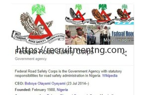 2018 Federal Road Safety Corps