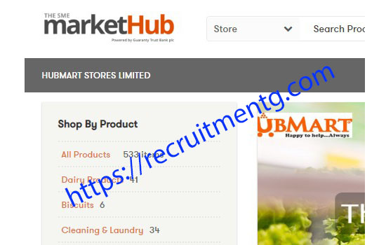 Fresh Sales Manager in Hubmart Stores Limited