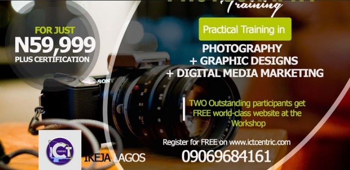 The ICT-CENTRIC PHOTOGRAPHY TRAINING