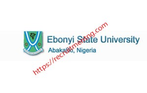 EBSU Admission List for 2018/19 is Out