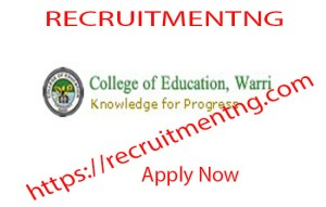 College of Education Warri NCE ADMISSION 2018/2019