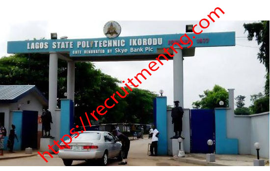 LASPOTECH ND Full-Time Acceptance Fee/ Clearance Procedure, 2018/2019