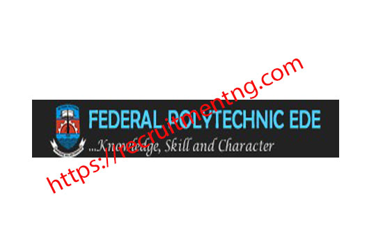 Federal Poly Ede Sales of HND Admission Form 2018/19
