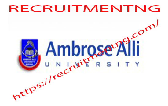 Screening Exercise for 2018/2019 in Ambrose Alli University Admission
