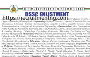 How to Apply for Nigerian Airforce DSSC Recruitment Form 2018
