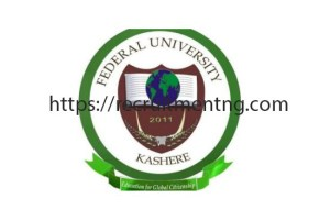 2018/2019 Federal University Kashere Fresh Students Registration