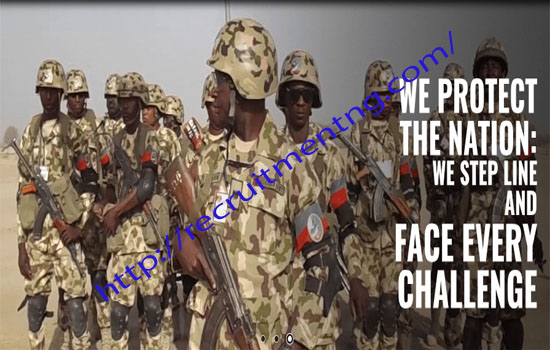 2019/2020 Combatant Nigerian Army Direct Short Service Commission Course 45