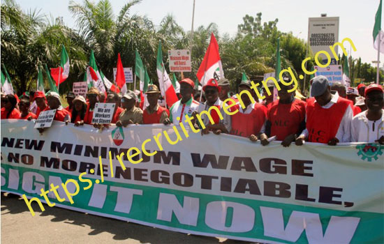 Nigerian N30000 Minimum Wage No Negotiation