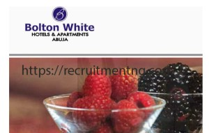 Food and Beverage Supervisor at Bolton White