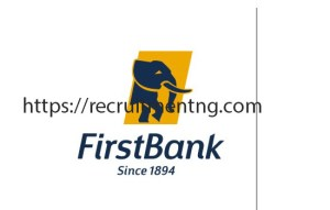 Data Analysis/Scripting Officer at First Bank of Nigeria