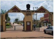 (ACEONDO) UTME Degree 2nd, Batch Admission Lists for 2018/2019