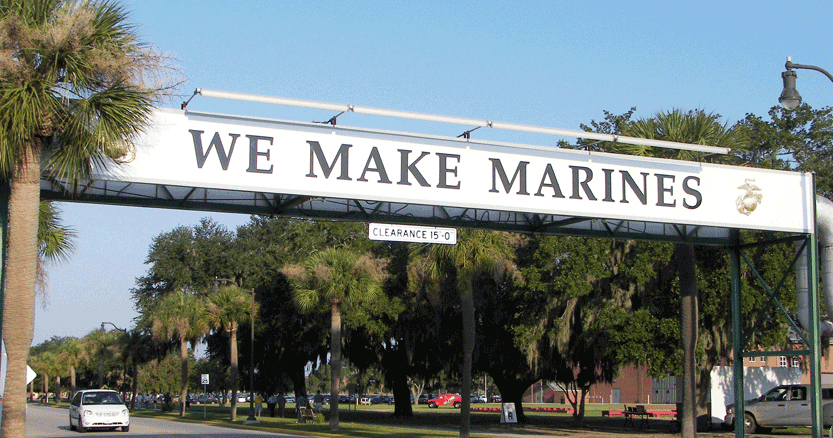 Image result for PHOTOS OF Parris Island