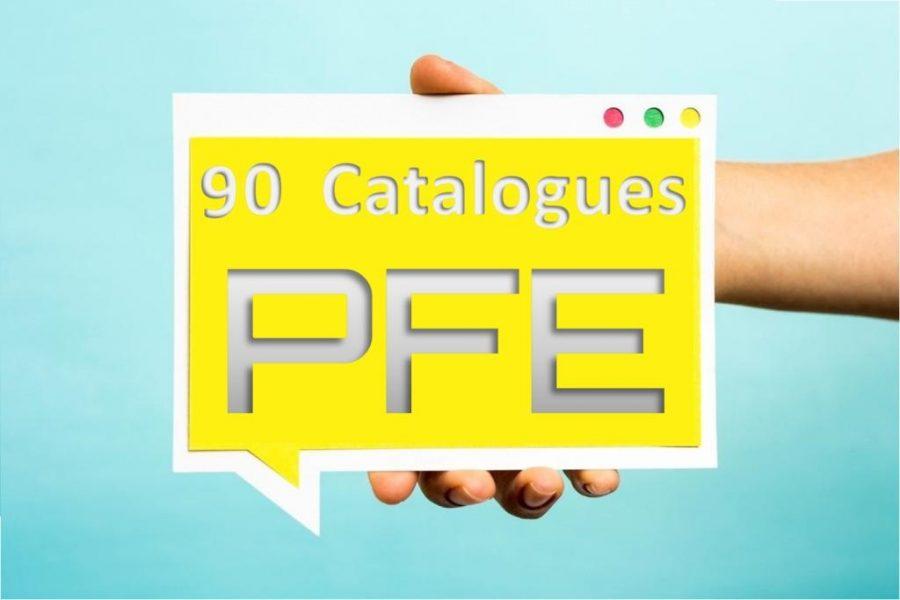 Collection de  [+151 Catalogues   :  des sujets PFE 2019]