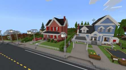 living minecraft map overall outskirts really
