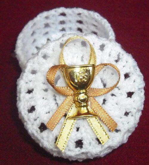 recuerdos de primera comunion a crochet