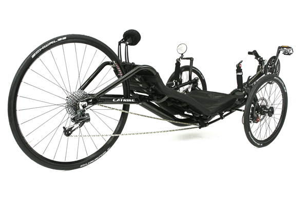 Catrike 700 right rear view