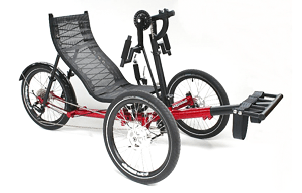 GS Magnum Hand Cycle side view